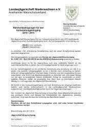 Anmeldeformular - Braunschweiger Jägerschaft e.V.