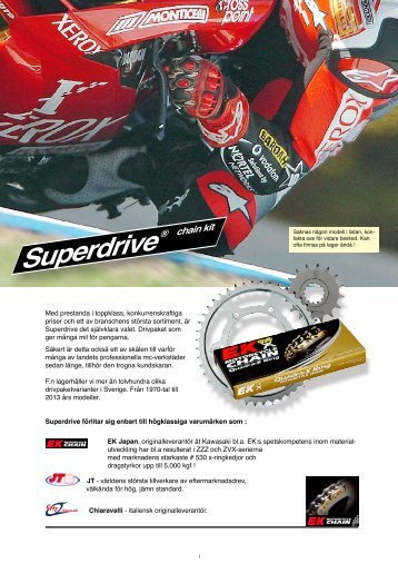 Drivpaket - S-Racing