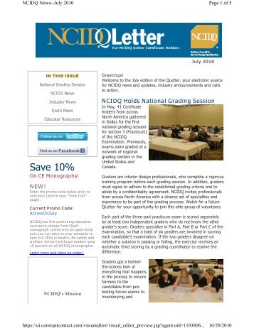 Awesome National Council For Interior Design Qualification