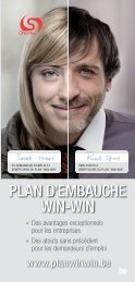 PLAN D'EMBAUCHE WIN-WIN