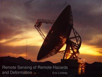 eserved@d = *@let@token Remote Sensing of Remote Hazards ...