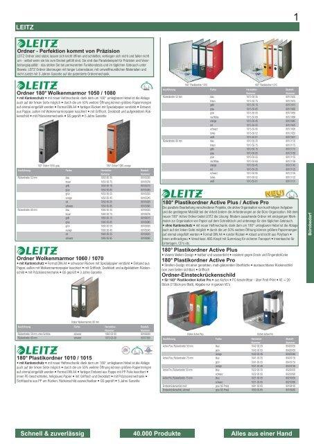 5 x Leitz 1190 Archiv-Ordner A4 Steckmechanik Lederpappe grau