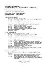 Reisebericht Segelreise Von Berlin Wannsee – Rund Bornholm