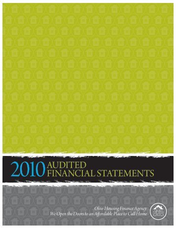 2010audited financial statements - Ohio Housing Finance Agency