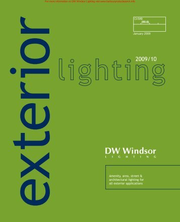 Exterior Lighting Brochure - BD Online Product Search