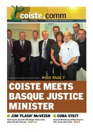 COISTE MEETS BASQUE JUSTICE MINISTER - CAIN