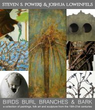 BIRDS BURL BRANCHES & BARK