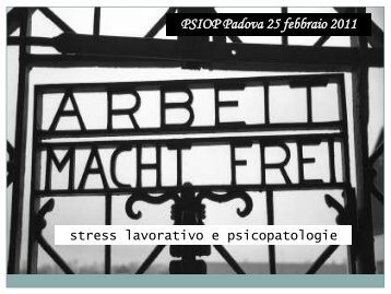 PSIOP Padova 25 febbraio 2011