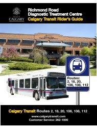 Richmond Road Diagnostic Treatment Centre Calgary Transit ...