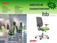 giroflex 68 charakterstark - H + B Bürorama AG