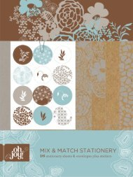 Oh Joy! Mix and Match Stationery - Chronicle Books