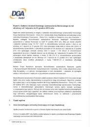 Raport z badania skonsolidowanego sprawozdania ... - Chemoservis
