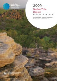 Download full report in PDF - Australian Human Rights Commission