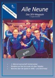 Alle Neune, Ausgabe 2 2014/2015
