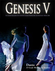 Spring 2008 Edition of Genesis V  - St. Ignatius College Preparatory