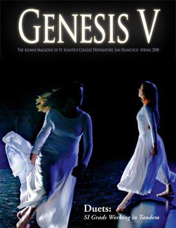 Spring 2008 Edition of Genesis V  - St. Ignatius College Preparatory