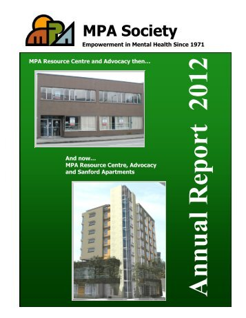 Annual Report 2012 - MPA Society