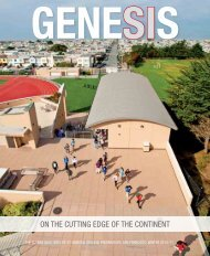 Winter 2010-2011 Edition of Genesis - St. Ignatius College Preparatory