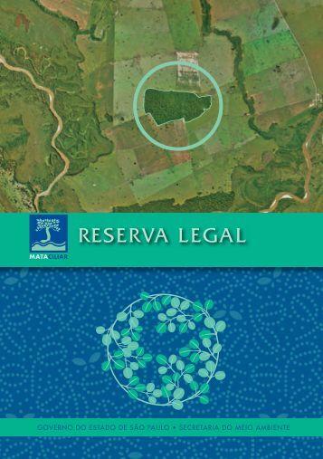 RESERVA LEGAL - SIGAM - Governo do Estado de São Paulo