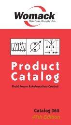Product Catalog - Womack Machine Supply Co.