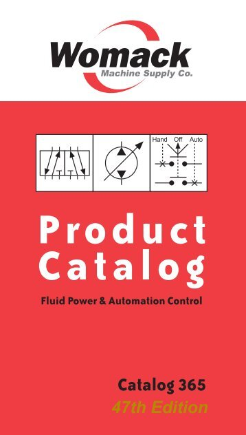 Product Catalog - Womack Machine Supply Co.