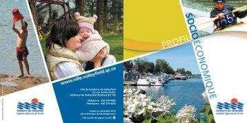 Profil socioéconomique - Salaberry-de-Valleyfield