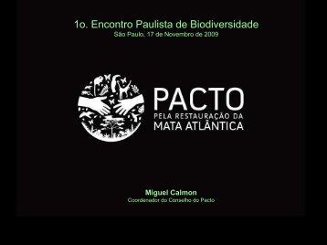 Apresentação da PACTO - SIGAM