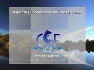 Aspectos Econômicos da Conservação - SIGAM