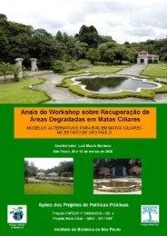 Anais do Workshop sobre Recuperação de Áreas ... - SIGAM