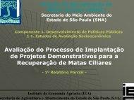 Avaliação do Processo de Implantação de Projetos ... - SIGAM