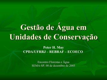 Informações necessárias para subsidiar estudos de ... - SIGAM