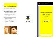 MMF - 12B brochure.pub - Inside CMMU - Mahidol University