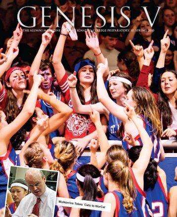 Spring 2010 Edition of Genesis V, The Alumni - St. Ignatius College ...