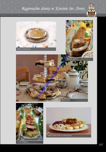 7. Gastronomia w Krianie św. Anny