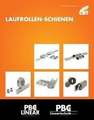 Rollen Systeme - PBC Lineartechnik GmbH