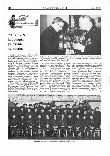 Palontorjunta 2/1963 - Pelastustieto