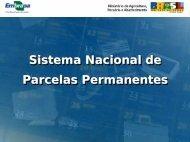 Sistema Nacional de Parcelas Permanentes (SisPP) - SIGAM