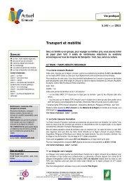 Transport et mobilité - (CRIJ) Limousin