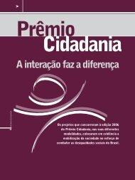 Prêmio Cidadania - Anuário Telecom