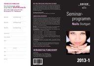 Seminarprogramm Stuttgart Nails 2013-1