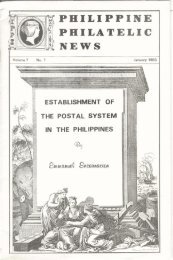 Establishment of the Postal System in the Philippines [pre-Adhesive]