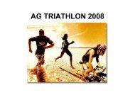 AG TRIATHLON 2008 - Triathlon Fribourg