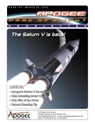 The Saturn V is back! - Apogee Components