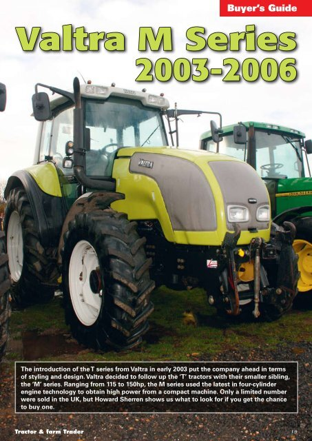 Buyer's Guide Valtra M Series 2003-2006 - Brian Robinson Machinery
