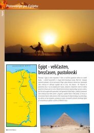 Egipt - veličasten, brezčasen, pustolovski - Kompas