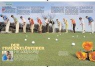 Von Dagmar Kaske und - Stefan Quirmbach Golfschule