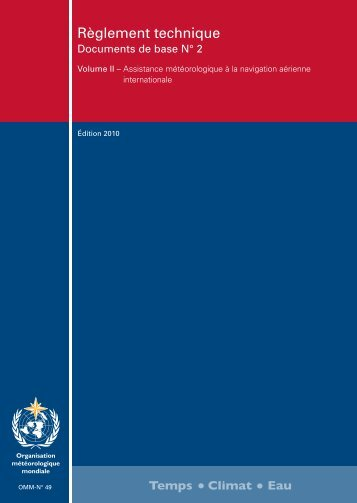 Règlement technique - E-Library - WMO