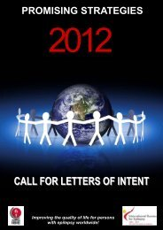 CALL FOR LETTERS OF INTENT
