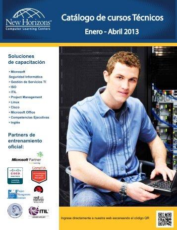 Catálogo de cursos Técnicos - New Horizons Computer Learning ...