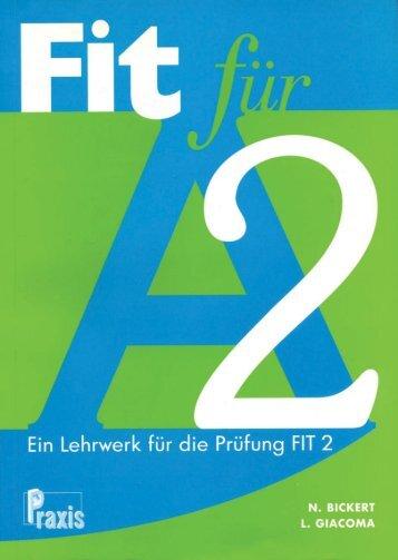 Fit fur A2 - Kursbuch.pdf - Praxis